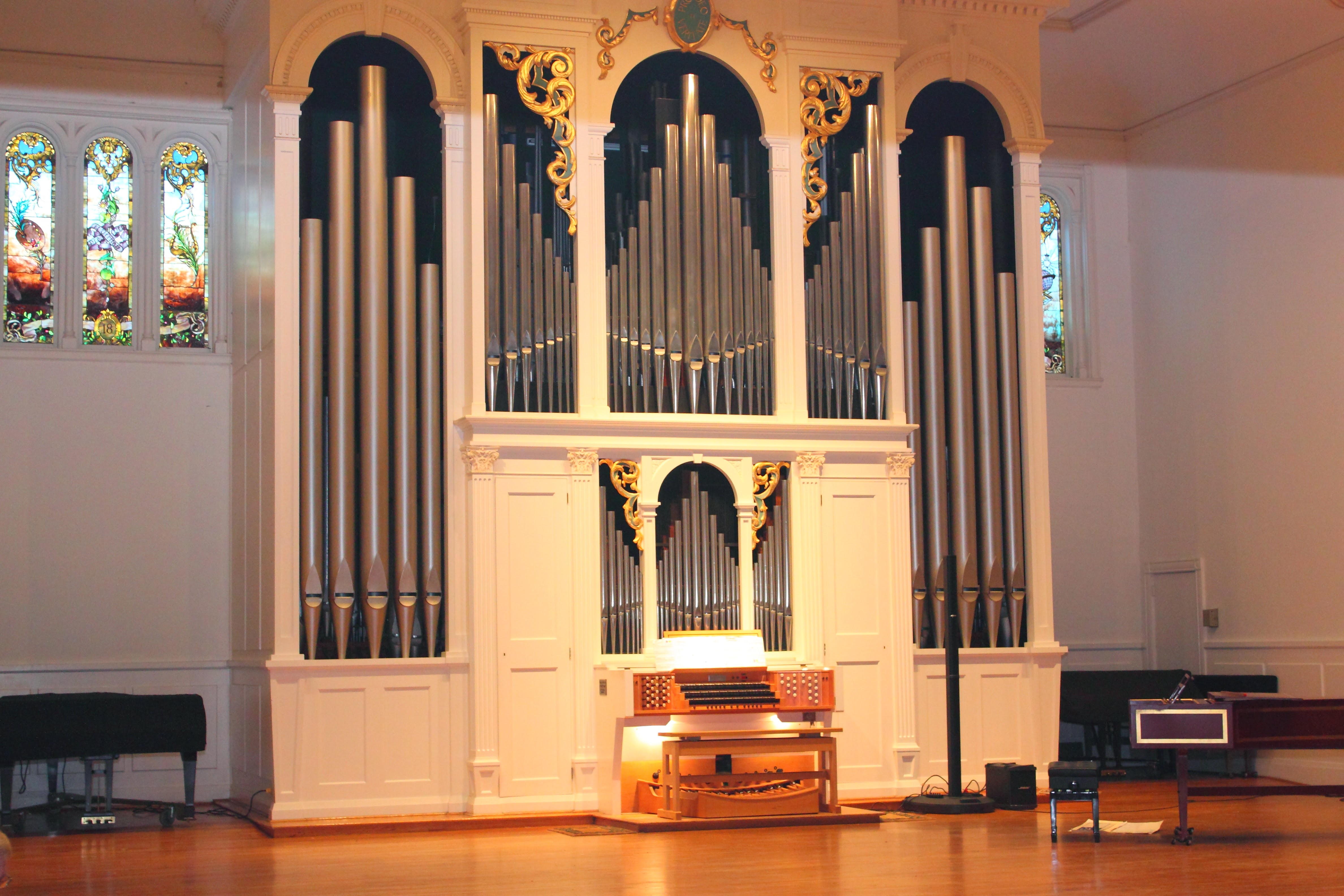 The Beckerath Organ in Lee Chapel of  Elizabeth Hall